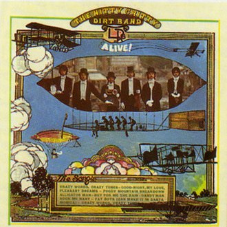Alive (Nitty Gritty Dirt Band album) - Image: NGDB Alive