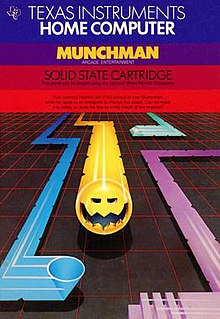 <i>Munch Man</i> 1982 video game