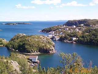 Nippers Harbour Town in Newfoundland and Labrador, Canada