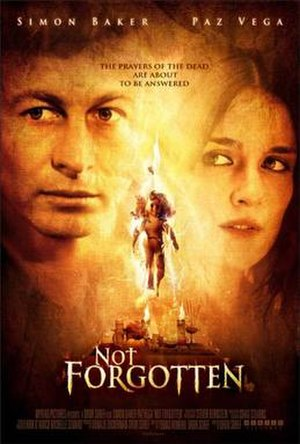 Not Forgotten (film) - Image: Not Forgotten (film) poster