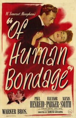 Of Human Bondage (1946 film) - Theatrical release poster