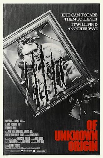 Of Unknown Origin - Theatrical release poster