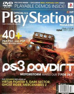 <i>Official U.S. PlayStation Magazine</i> periodical literature