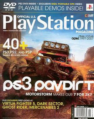 Official U.S. PlayStation Magazine - Image: Opm 0701