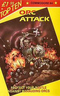 <i>Orc Attack</i> 1983 video game