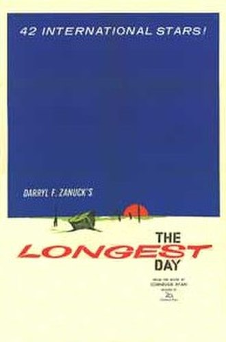 The Longest Day (film) - original movie poster