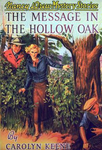 The Message in the Hollow Oak - Original edition cover