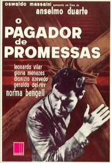 <i>O Pagador de Promessas</i> 1962 Brazilian film directed by Anselmo Duarte
