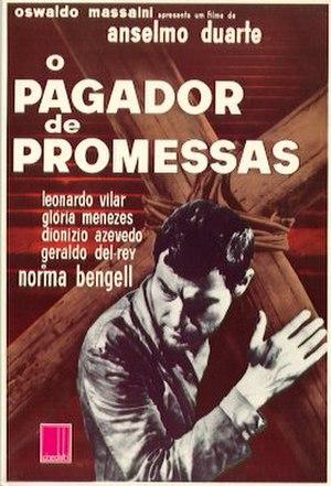 O Pagador de Promessas - Original poster in Portuguese