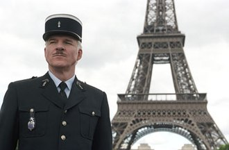 Inspector Clouseau - Steve Martin as Inspector Jacques Clouseau, suited with a Gendarme uniform