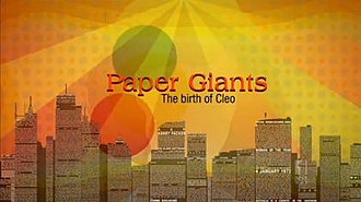 Paper Giants: The Birth of Cleo - Opening titles