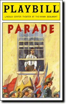 Parade musical Playbill cover.jpg