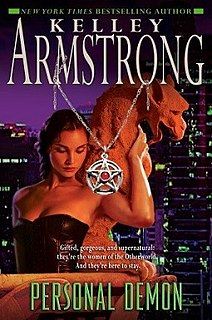 <i>Personal Demon</i> book by Kelley Armstrong