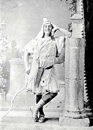 Huntley Wright - as Heliodorus in A Greek Slave