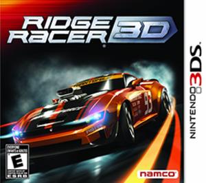Ridge Racer 3D - Image: Ridge Racer 3D Cover Art