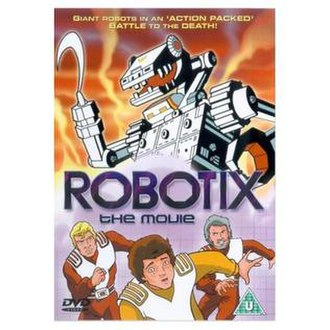 Robotix - UK DVD cover for Robotix: The Movie