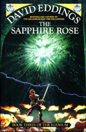 The Elenium - Cover of The Sapphire Rose