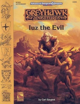 Iuz - Image: Sargent Iuz Evil Cover