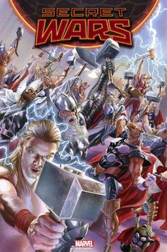 Alternative versions of Thor (Marvel Comics) - Image: Secret Wars Vol 1 2 Textless
