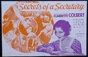 Secrets of a Secretary - Poster