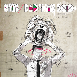 Bad Time Zoo - Image: Sims Bad Time Zoo (album cover)