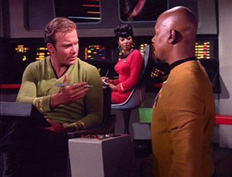 Trials and Tribble-ations - Image: Sisko Kirk