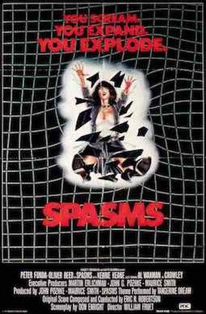 Spasms - Image: Spasm movieposter