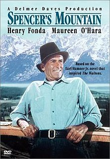 <i>Spencers Mountain</i> 1963 film by Delmer Daves