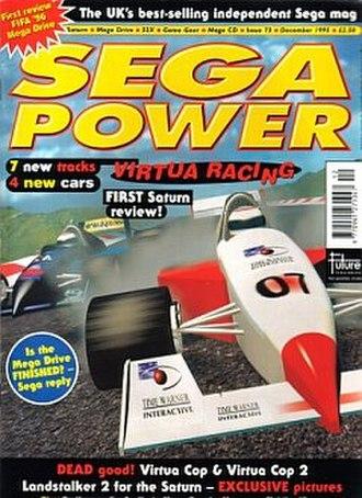Sega Power - Image: Spower 073001