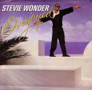 Overjoyed (Stevie Wonder song) - Image: Stevie Wonder Overjoyed