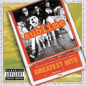 Greatest Hits (Sublime album) - Image: Sublime Greatest Hits