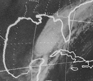 1974 Atlantic hurricane season - Image: Subtropical Storm One (1974)