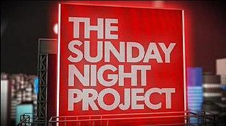 The Sunday Night Project - Image: Sunday Night Project Titles 2008
