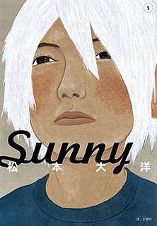 <i>Sunny</i> (manga) Japanese manga series by Taiyō Matsumoto