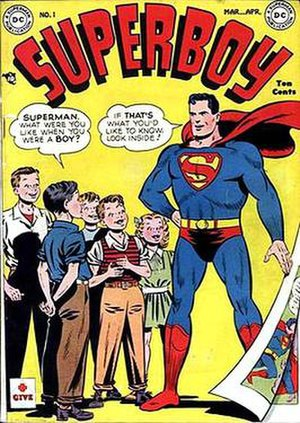 Superboy (comic book) - Image: Superboy v 1 1
