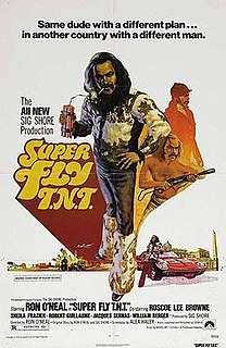 <i>Super Fly T.N.T.</i> 1973 film by Ron ONeal