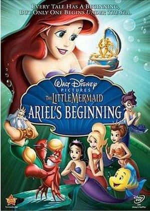 The Little Mermaid: Ariel's Beginning - DVD cover