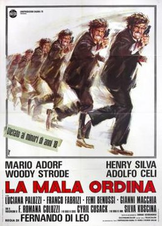 The Italian Connection - Image: The Italian Connection poster