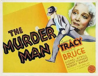 <i>The Murder Man</i> 1935 film by Tim Whelan