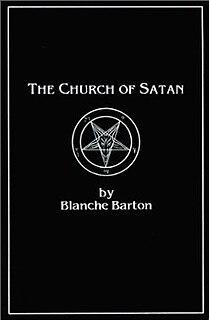 <i>The Church of Satan</i> (book) book by Blanche Barton