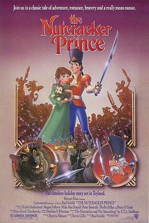 The Nutcracker Prince - Theatrical release poster by John Alvin