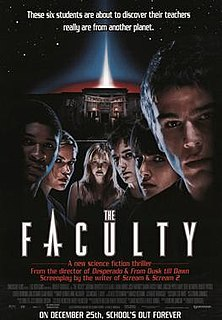 <i>The Faculty</i> 1998 American science fiction horror film