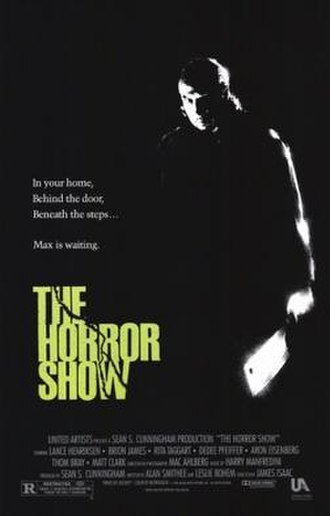 The Horror Show - Theatrical release poster
