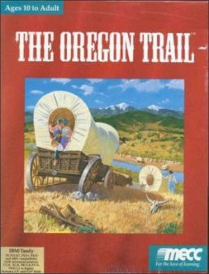 The Oregon Trail (video game) - Image: The Oregon Trail cover