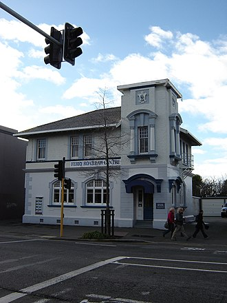 Woolston, New Zealand - The Old Ferry Road/Woolston Post Office