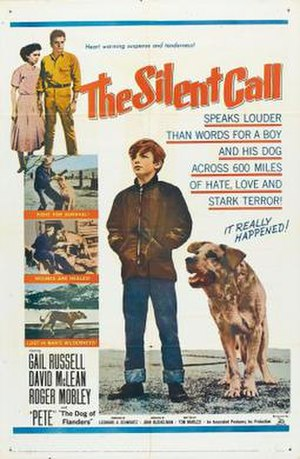 The Silent Call - Theatrical release poster