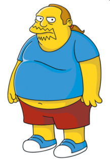 Comic Book Guy Fictional character from The Simpsons franchise