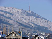 The TV Tower on the mountain in Vitosha