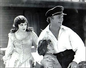 The Yankee Clipper (film) - The film's three stars, Elinor Fair, Junior Coghlan, and William Boyd, left to right.