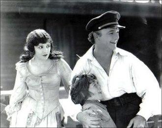 The Yankee Clipper (film) - The film's three stars, Elinor Fair, Junior Coghlan, and William Boyd, left to right.